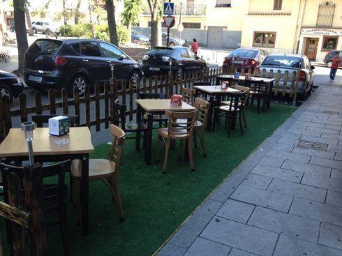 Licencia Para Terraza de Bar-Restaurante